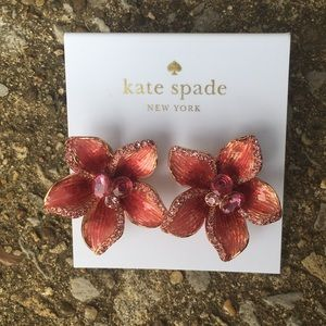 Kate Spade ♠️ Winter Garden Floral Stud Earrings